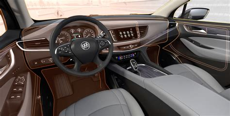 buick enclave mid size luxury suv interior features