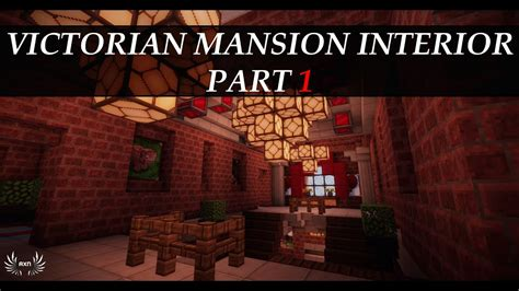 minecraft tutorials victorian mansion interior part  youtube