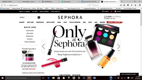 sephora si鑒e marketing communicatons fashion photography