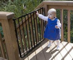 outdoor gate for deck stairs 1000 images about safety gates for stairs on 7227