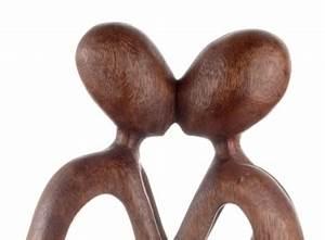 Deko Figuren Liebespaar : figur liebespaar abstrakt yogapaar geschwungen afrika deko shop ~ Bigdaddyawards.com Haus und Dekorationen