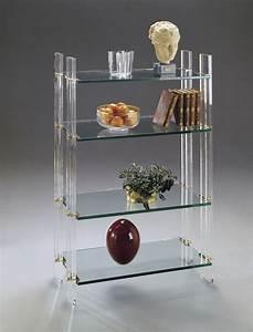 Bibliothèque En Verre : meubles en verre meubles gallay saintes 17 ~ Teatrodelosmanantiales.com Idées de Décoration