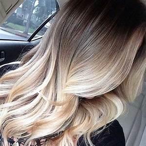 Ombré Hair Blond Foncé : 41 ombr hair platinados cuidados e tutorial f cil ~ Nature-et-papiers.com Idées de Décoration