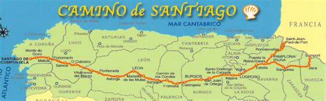 camino maps photos st jean pied de to los arcos spain