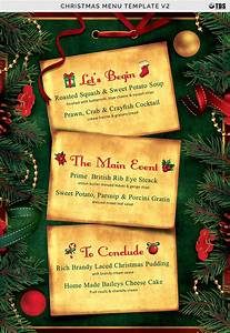 Christmas Menu Template V2 by Thats Design Store ...