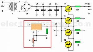 20 Amp Variable Power Supply Using Lm317