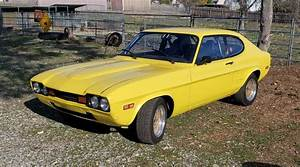 1973 Ford Capri Sportscar Yellow Rwd Manual