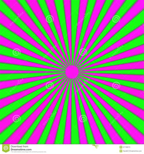 Bright Green Pink And Purple Explosion, Rays Stock