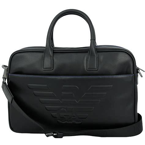 Armani Exchange Briefcase by Across Emporio Armani Business Bag Eagle Logo