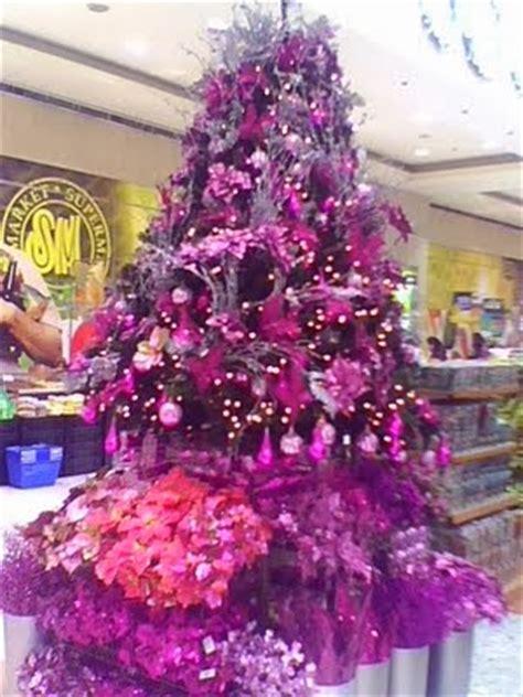 fotos de 225 rboles de navidad color violeta colores en casa