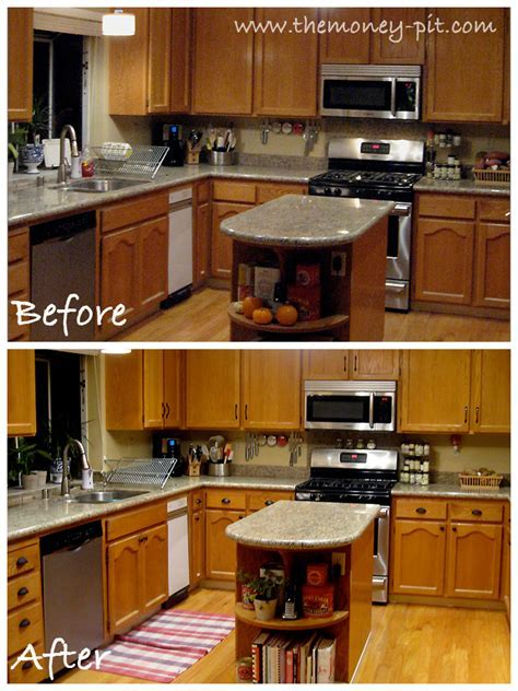 Updating Oak Cabinets   Home Design and Decor Reviews