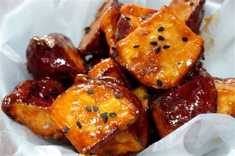 recipes with sweet potato candied sweet potatoes daigaku imo だいがく いも japanese cooking recipes ingredients cookware