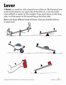 Simple Machines: Lever | Simple Machines, Worksheets and ...
