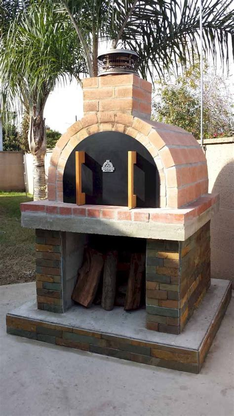 Backyard Pizza Oven by 3 Generations Of Sybesma S Built This Beautiful Oven On A