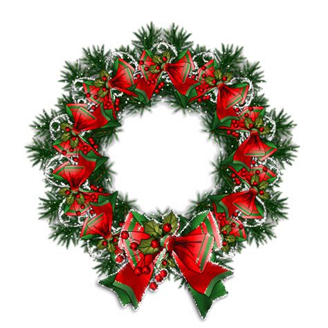 elmets gifs coronas navidenas