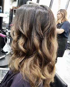 Ombré Hair Blond Foncé : ombr hair brun chatain ~ Nature-et-papiers.com Idées de Décoration