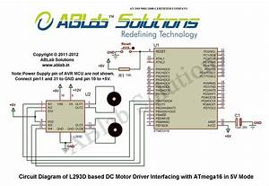 Atmega16 Dc Motor Program