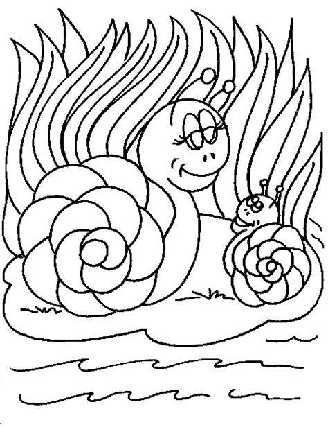 Kleurplaat Turbo Slak by Snail Coloring Page Getcoloringpages