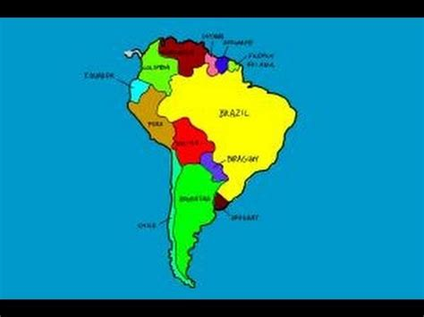 draw south america youtube