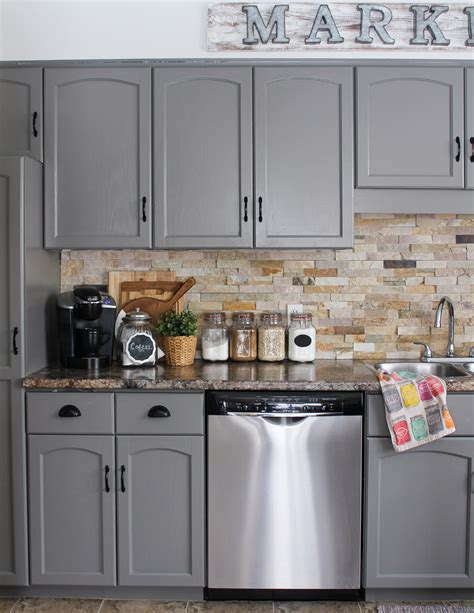 10 Diy Kitchen Cabinet Makeovers  Before & After Photos