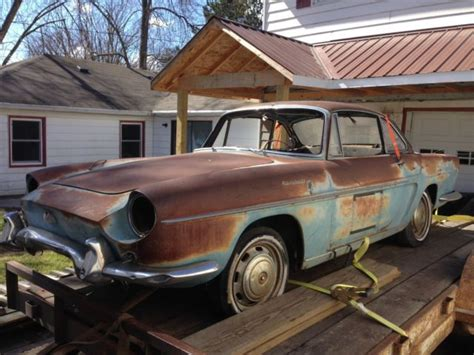renault caravelle for sale renault other convertible 1963 blue for sale 0092319
