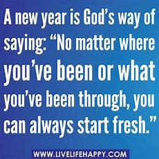 A New Year Is God's Way Of Saying  Live Life Happy