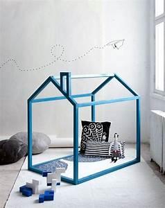 Lit Maison Enfant : diy lit cabane mod les originaux pour les enfants ~ Farleysfitness.com Idées de Décoration