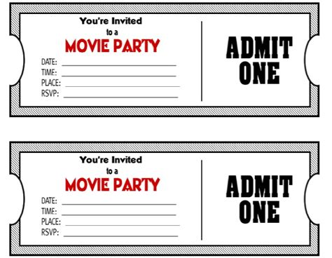 raffle  ticket templates templatehub