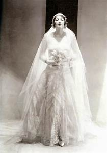 Chanel Wedding Dress ca. 1930 —- Betty Garst wearing a ...