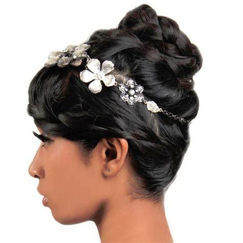 black hair styles for wedding the black hair is braided
