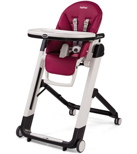 Peg Perego High Chair Siesta by Peg Perego Siesta High Chair Berry