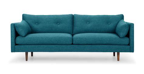 turquoise settee anton arizona turquoise sofa article