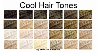 Cool Hair Tones by Hair Tone Earth And Air