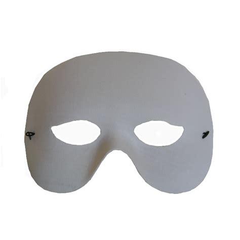 blank masquerade  mask