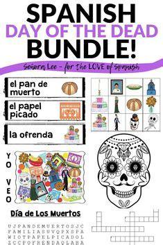 100+ Best Día de los muertos Spanish class activities ...