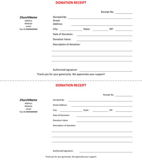 church donation receipt letter template 45 free donation receipt templates formats docx pdf