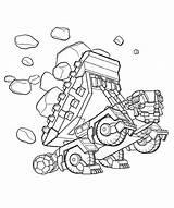 Coloring Dinotrux Printable Ton Sheets Educativeprintable sketch template