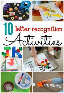 10 letter recognition activities abc activities With letter recognition games