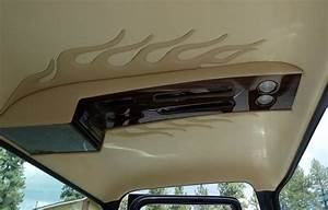 Overhead Console For Stereo  Etc