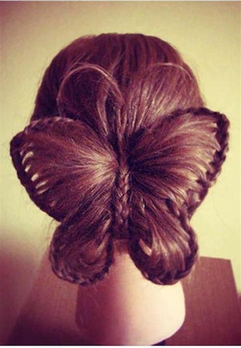 fun butterfly braid tutorial cute hairstyles