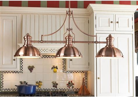 farmhouse kitchen pendant lights period pendant island chandelier copper farmhouse