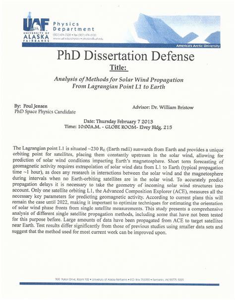dissertation template 14 free sle exle