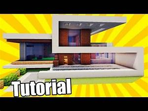 MinecraftEasy Modern House / Mansion Tutorial #3 + DO