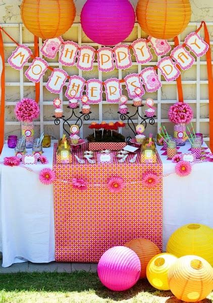 mothers day event ideas 60 beautiful mother s day party ideas pink lover