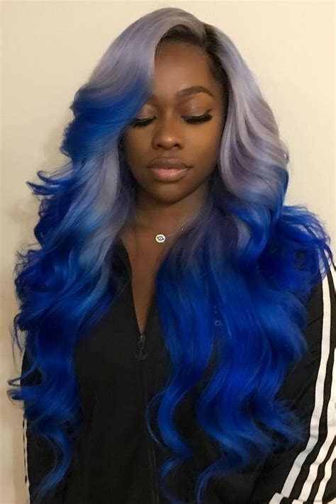 colorful hairstyles for long hair 17 best ideas about black hairstyles on pinterest
