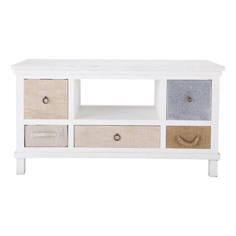tv möbel 110 cm mueble de tv de madera blanca an 110 cm en 2018 mueble