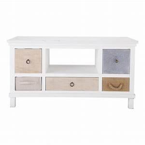 meuble tv industriel maison du monde maison design With meuble bas maison du monde 1 meuble tv industriel 2 tiroirs 1 niche