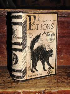 Halloween Witches Potion Book