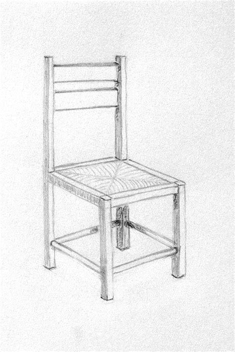 dessin de chaise en perspective cours de dessin