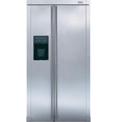 zfsbdnss ge monogram  standing side  side refrigerator monogram appliances